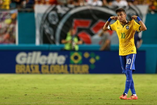 Сборная Бразилии победила Колумбию благодаря голу Неймара