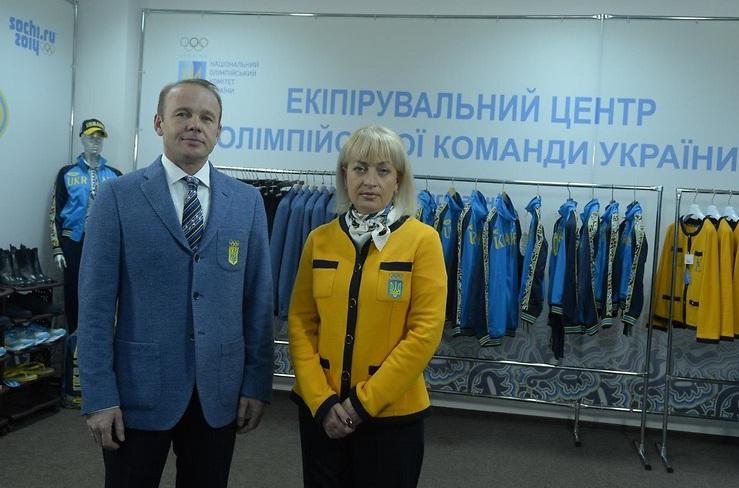 Олимпийская форма сборной Украины
