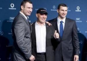 Братья Кличко поборются за спортивный Оскар