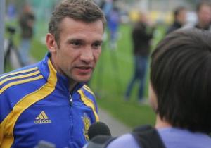 Шевченко не поедет на матч против Эстонии