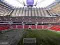 На стадионе в Варшаве уложен