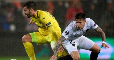 Валенсия - Вильярреал 2:0 видео голов и обзор матча Лиги Европы