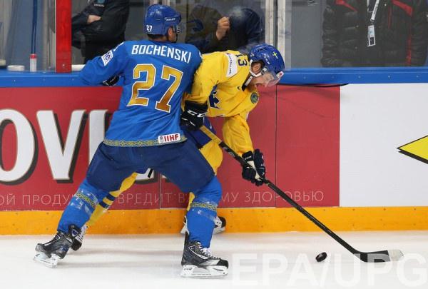 Казахстан уступает Швеции