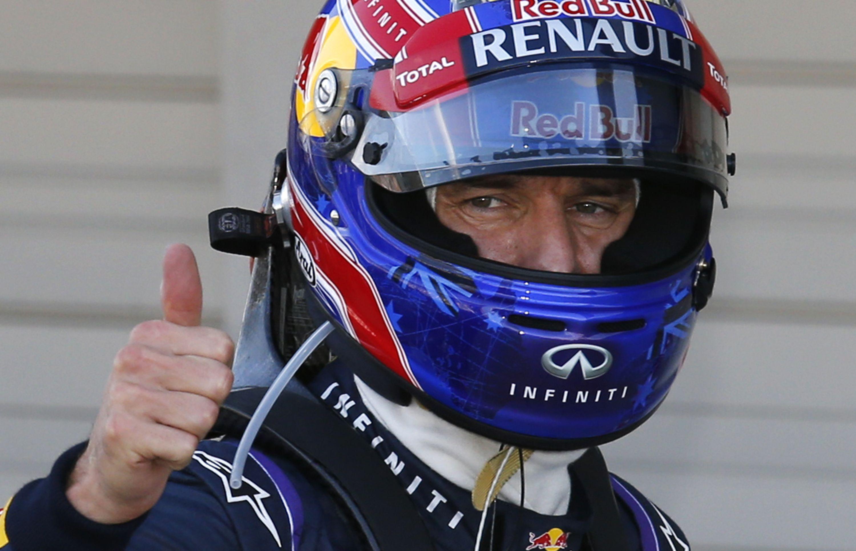 Уэббер выиграл поул-позишн на Гран-при Японии