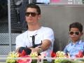 Сын Роналду сыграл с Золотыми мячами отца