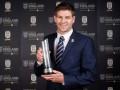 Болельщики назвали Джеррарда лучшим футболистом сборной Англии