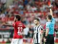 Луис Адриано подвел Спартак, получив красную карточку в Лиге чемпионов