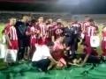 Кровавый спорт. Турецкие футболисты зарезали ягненка прямо на поле