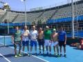 Мужская сборная Украины начала подготовку к матчам Кубка Дэвиса