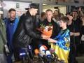 Усик вернулся в Киев: После боя еще не спал