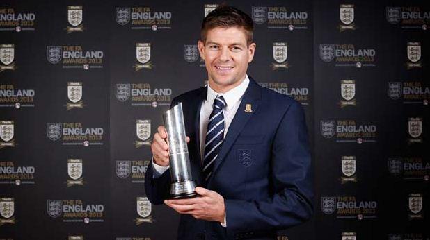 Стивен Джеррард - лучший футболист сборной Англии
