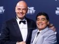 Марадона будет работать в ФИФА