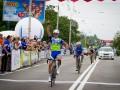 В Киеве состоялась международная велогонка мира