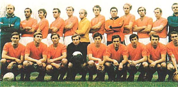 Заря (Ворошиловград) - Чемпион СССР по футболу 1972 года
