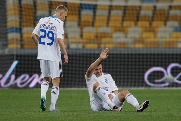 Драгович получил травму во время матча с Волынью