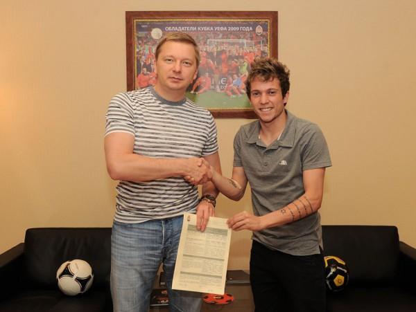 Бернард подписал контракт с Шахтером на 5 лет