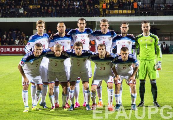 Участник Евро-2016 - сборная России