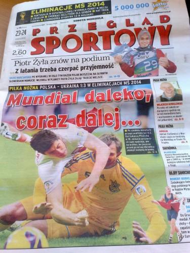 Польская пресса нещадно критикует свою сборную за пятничный матч