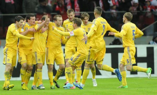 Украина уверенно переиграла Польшу