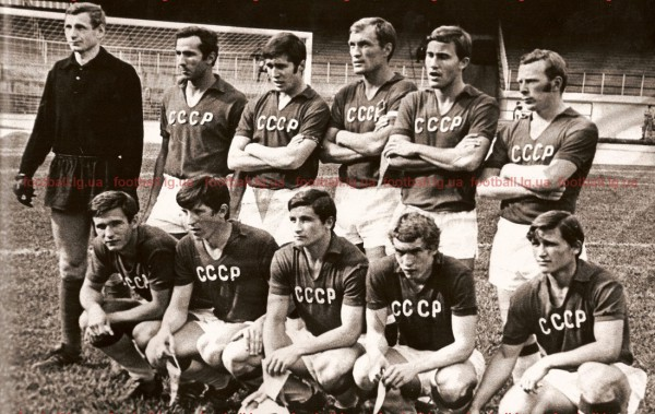 Лето-1972: в основном футболисты Зари в футболках сборной СССР на Кубке 150-летия Независимости в Бразилии