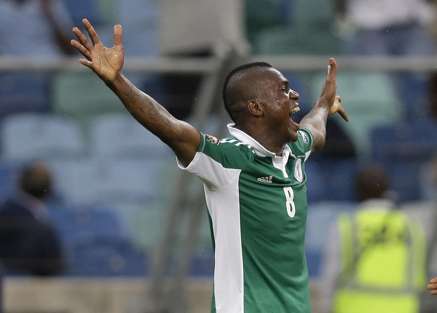 Браун Идейе очень счастлив, что ему удалось выиграть со своей сборной Кубок африканских наций