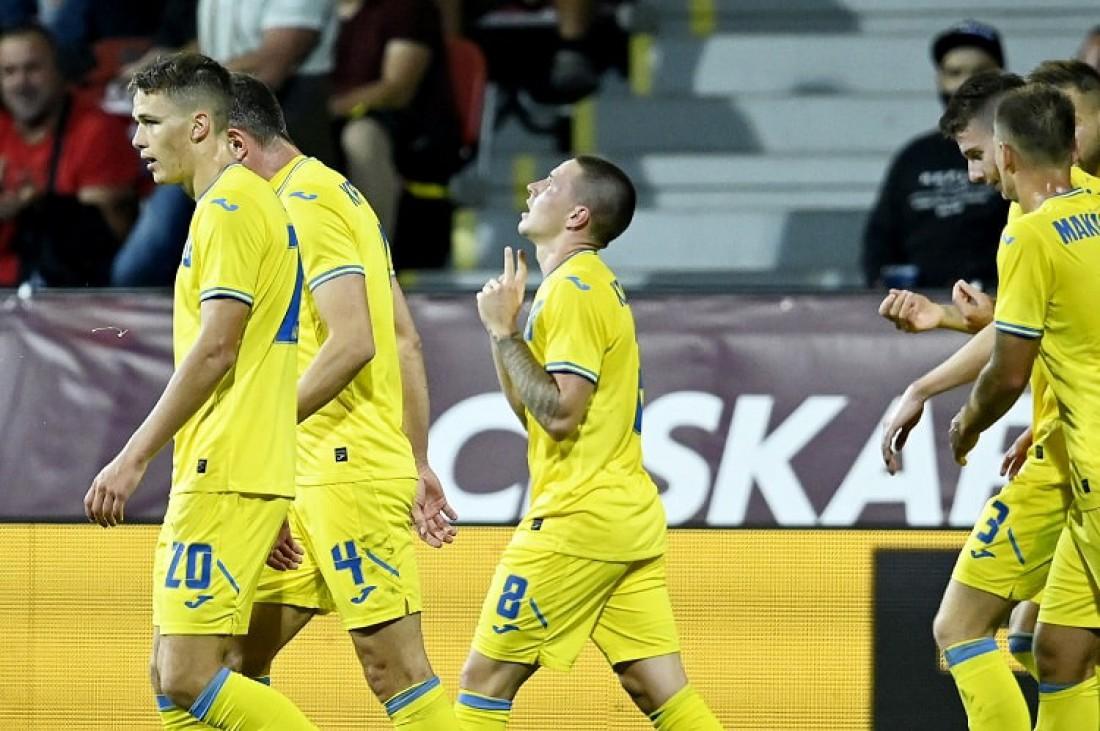 Виктор Корниенко забил гол на 27-й минуте матча