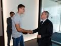 Стала известна дата презентации Лунина в Реале