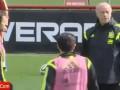 Тренер сборной Испании выгнал Сеска Фабрегаса с тренировки