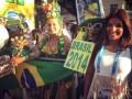 Матчи Коста-Рики на ЧМ-2014 освещает сексуальная журналистка (фото)