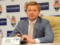 Палкин поблагодарил Суркиса за возможность сыграть матч Шахтера в Киеве