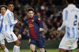 Барселона играет с Малагой