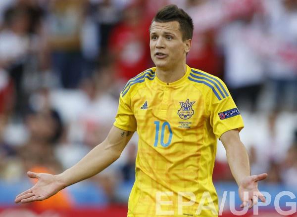 Сборная Украины проиграла Польше