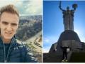 Польский легионер Динамо побывал на самой высокой точке Киева