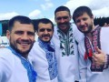 Усик в вышиванке и Беленюк с глечиком: поздравления спортсменов с Днем Независимости