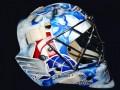 Вратарь Динамо нанес на шлем рисунок в память о погибших хоккеистах Локомотива