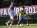 Трем футболистам сборной Франции грозит четырехматчевая дисквалификация по итогам Евро-2012