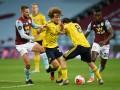 Астон Вилла - Арсенал 1:0 видео гола и обзор матча чемпионата Англии