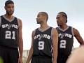 Баскетболисты Сан-Антонио снялись в рекламе сети супермаркетов