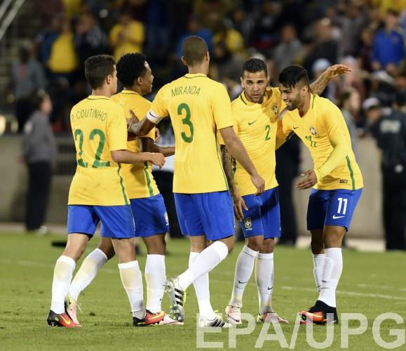 Бразилия разгромила Гаити