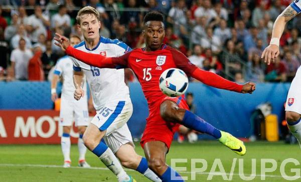 Словакия - Англия - один из центральных матчей первого тура отбора на ЧМ-2018