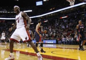 NBA: Майами побеждает Атланту, Миннесота громит Кливленд