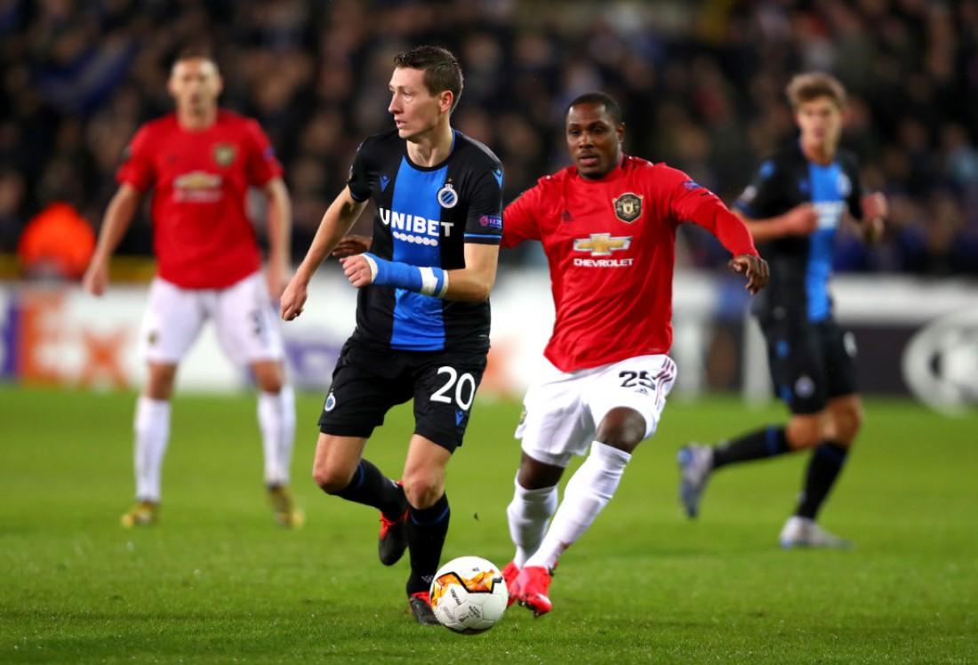 Брюгге - Манчестер Юнайтед: видео голов и обзор матча