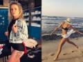 Дерзкая Свитолина и бегущая по волнам Шарапова: лучшие инстафото спортсменов недели