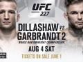 Диллашоу – Гарбрандт: видео онлайн трансляция боя UFC 227