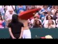Теннисисты во время матча устроили для зрителей стриптиз