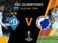Динамо - Копенгаген 0:0 онлайн трансляция матча Лиги Европы