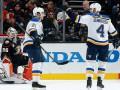 НХЛ: Сент-Луис забросил 5 шайб Анахайму, Монреаль вырвал победу у Аризоны