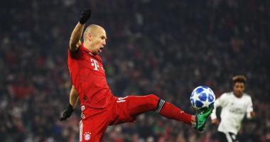 Роббен - автор лучшего гола недели в Лиге чемпионов