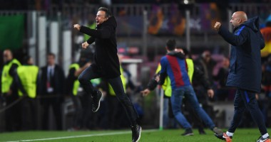 Сумасшедшая реакция тренера Барселоны на победу своих подопечных