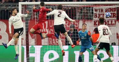 Бавария - Бенфика 5:1 видео голов и обзор матча Лиги чемпионов